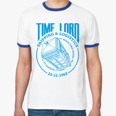 Футболка Ringer-T Time Lord