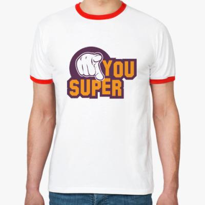Футболка Ringer-T U Super