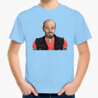 Детская футболка Ленин хиппи