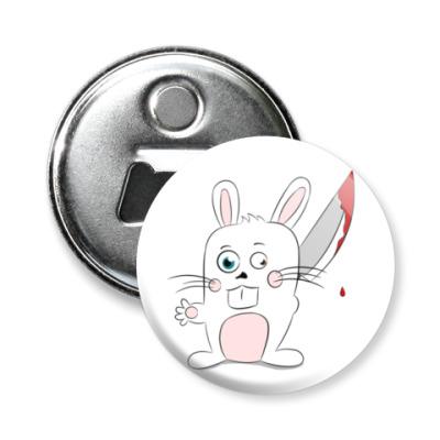 Магнит-открывашка Кролик