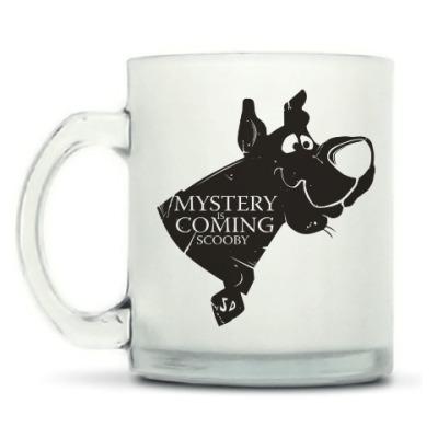 Кружка матовая Mystery is coming