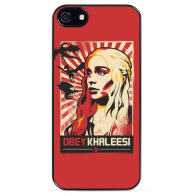 Чехол для iPhone OBEY KHALEESI