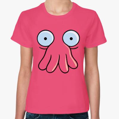 Женская футболка Зойдберг