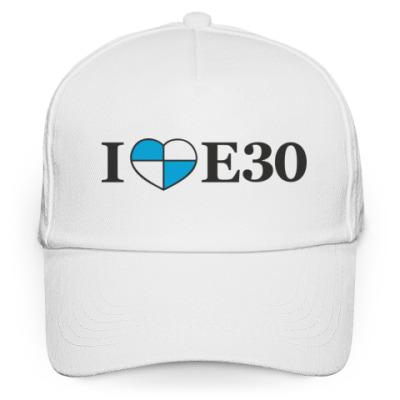Кепка бейсболка I love E30