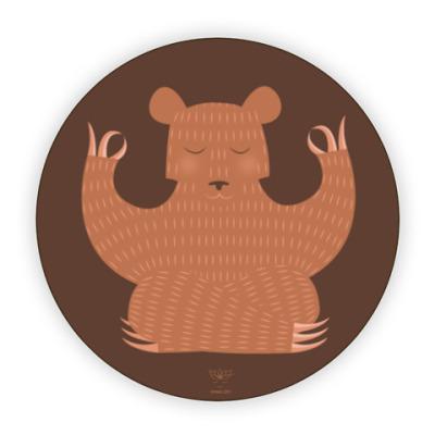 Костер (подставка под кружку) Animal Zen: B is for Bear