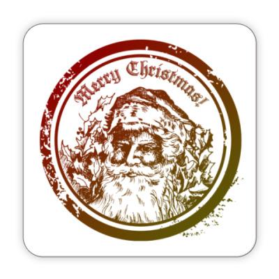 Костер (подставка под кружку) С рождеством