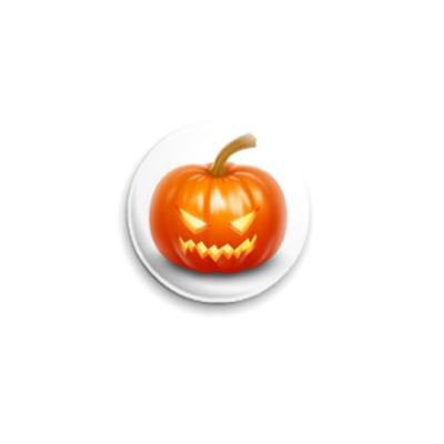 Значок 25мм  Pumpkin