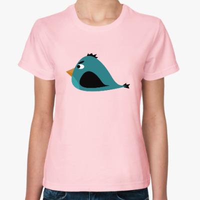 Женская футболка Злая птица