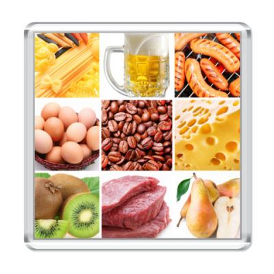 Магнит  Food Collage1