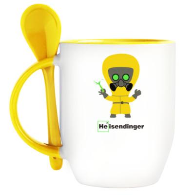 Кружка с ложкой Heisendinger