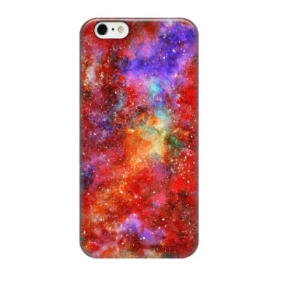 Чехол для iPhone 6/6s Космос (огненный)