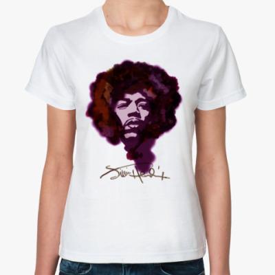 Классическая футболка Jimi Hendrix