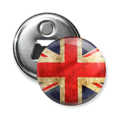 Магнит-открывашка Флаг Великобритании