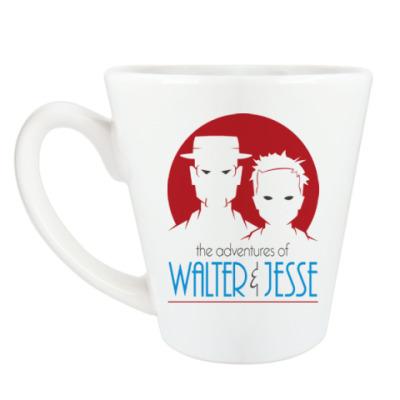 Чашка Латте Уолтер и Джесси