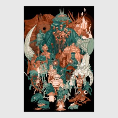 Постер Dark Souls