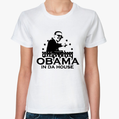 Классическая футболка OBAMA