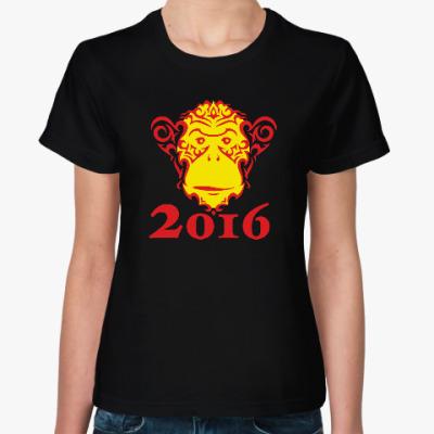 Женская футболка Год обезьяны 2016