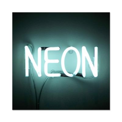Наклейка (стикер) Neon