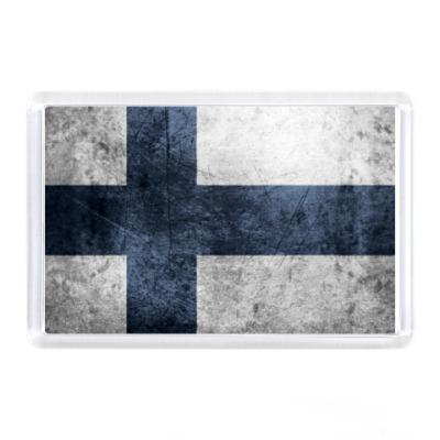 Магнит  'Финский флаг'
