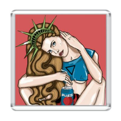 Магнит Lana Del Rey