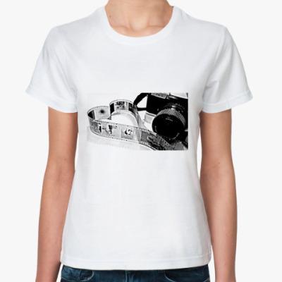 Классическая футболка люблю фото