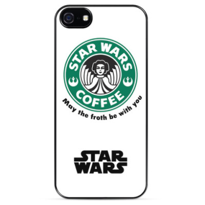 Чехол для iPhone   'StarWars Coffee'