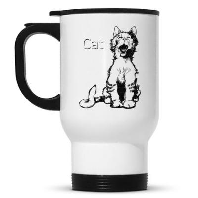 Кружка-термос Cat