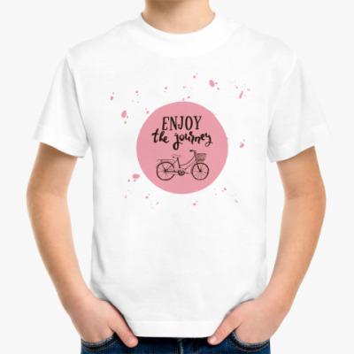 Детская футболка Велопрогулка