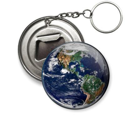 Брелок-открывашка Земля