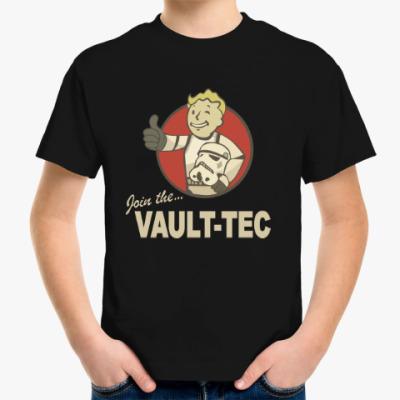 Детская футболка Fallout  star wars