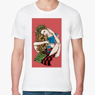 Футболка из органик-хлопка Lana Del Rey