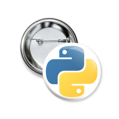 Значок 37мм Python