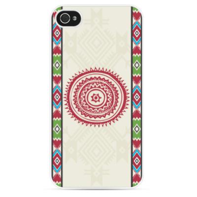 Чехол для iPhone Индейский мотив