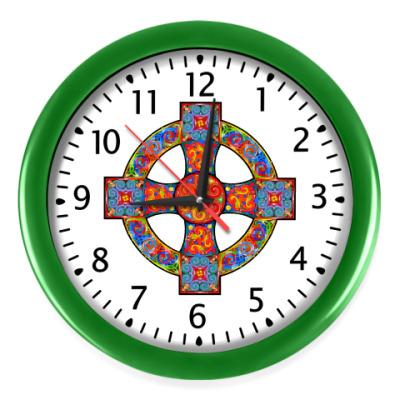 Настенные часы Кельтский крест