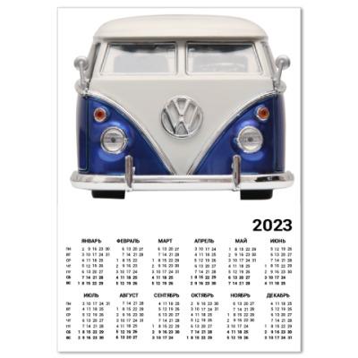 Календарь Volkswagen Bus