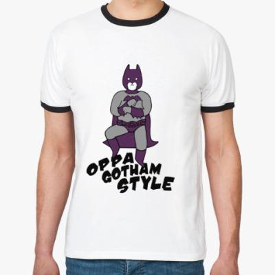 Футболка Ringer-T Gotham style
