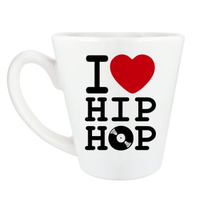 Чашка Латте I Love Hip Hop