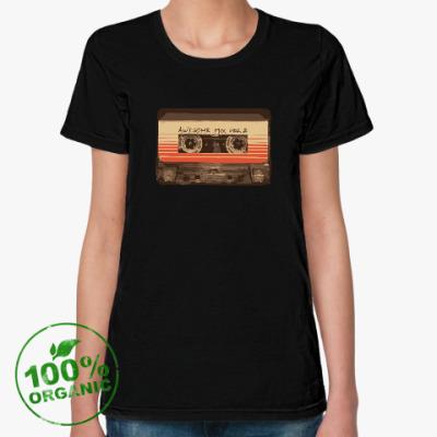Женская футболка из органик-хлопка Стражи Галактики