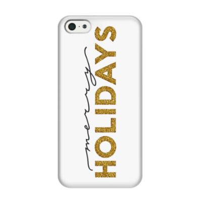 Чехол для iPhone 5/5s Merry holidays