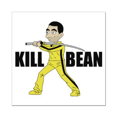 Наклейка (стикер) Kill Bean