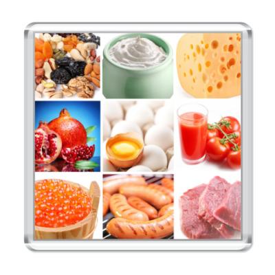 Магнит  Food Collage4