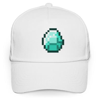 Кепка бейсболка Minecraft Алмаз/Diamond