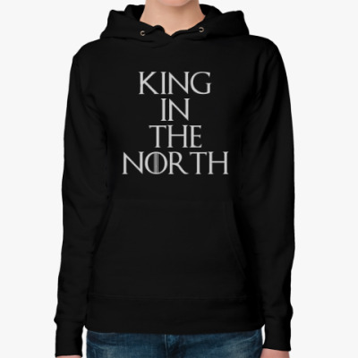 Женская толстовка худи KING IN THE NORTH