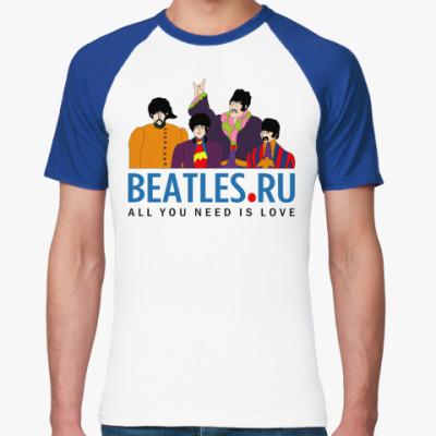 Футболка реглан  футболка Beatles.ru