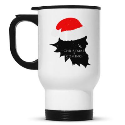 Кружка-термос Christmas is coming