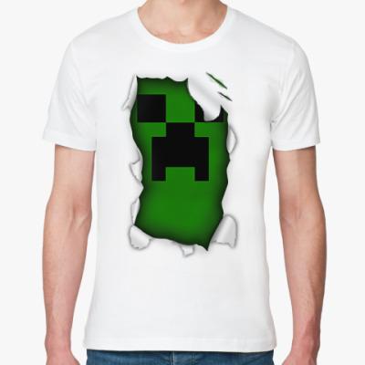 Футболка из органик-хлопка 'Minecraft'