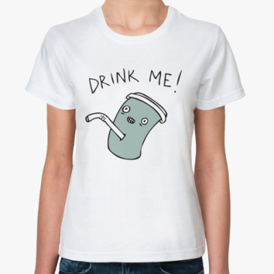 Классическая футболка Drink