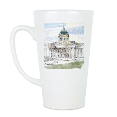 Чашка Латте Казанский собор