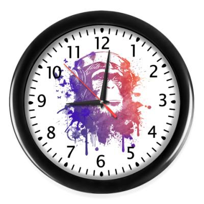 Настенные часы Обезьяна - Music