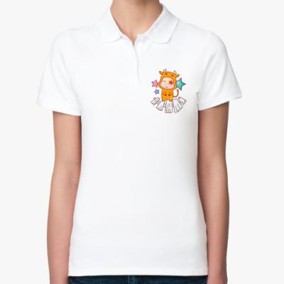Женская рубашка поло Знак зодиака Телец